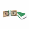 Green Barred $200 Currency Bands | CBB-004