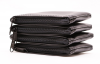 "Black Zipper Wallet, 3"" X 4.5"" 