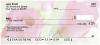 Pink Roses Personal Checks | FLO-40