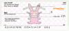 Girly It's Happy Bunny Personal Checks | IHB-11