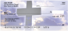 Crosses - Heavenly Crosses Personal Checks | REL-18
