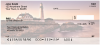 Lighthouses at Sunset Personal Checks | SCE-79