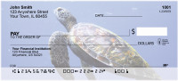 Sea Turtles Under Water Personal Checks | ANK-72