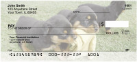 Rottweiler Personal Checks | DOG-40