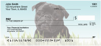 Mischievous Pugs Personal Checks | DOG-87