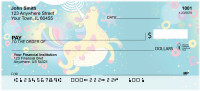 Cartoon Unicorns Personal Checks | FUN-98