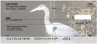Great Blue Heron Personal Checks | GCB-30