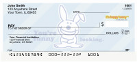 It's Happy Bunny More Insults Personal Checks | IHB-05