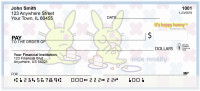 It's Happy Bunny Not-So-Guilty Pleasures Personal Checks | IHB-07