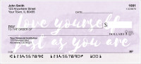 Believe in Yourself Personal Checks | REL-54