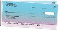 Sunset Chevron Side Tear Personal Checks | STGEP-001