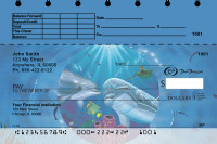 Dolphins Top Stub Personal Checks  | TSDUN-02