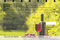 Wine and Dine Top Stub Personal Checks | TSFOD-67