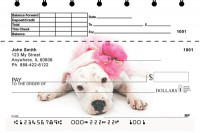 Pitbull Puppies Top Stub Personal Checks | TSGCA-02