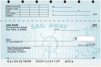 Sail to Paradise Top Stub Personal Checks | TSGEP-90