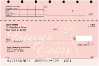 Forever Yours Top Stub Personal Checks | TSLOV-20