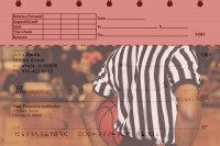 Basketball Top Stub Personal Checks | TSSPO-12