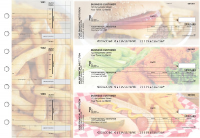 American Cuisine Invoice Business Checks | BU3-CDS01-INV