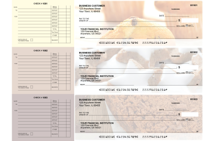Bakery Accounts Payable Designer Business Checks | BU3-CDS02-DED