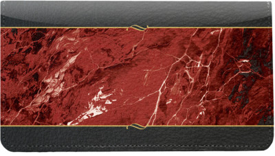 Burgundy Marble Leather Cover | CDP-VAL022
