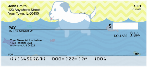 Dog Days of Summer Personal Checks | ANI-007