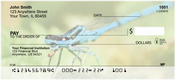 Dragonflies Personal Checks | ANI-26