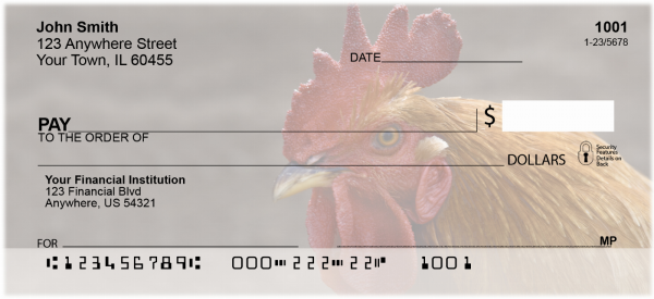 Roosters Personal Checks | ANI-36