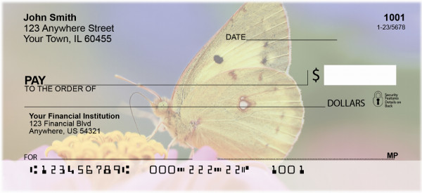Butterfly Dreams Personal Checks | ANK-62
