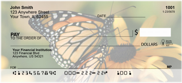 Golden Wings Personal Checks | ANK-65