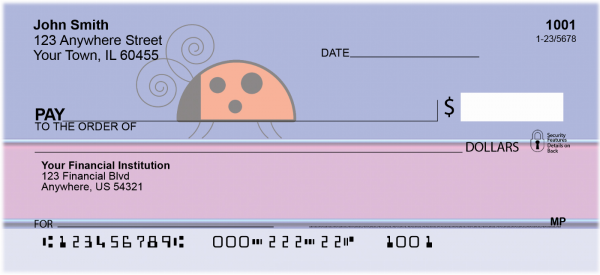 The Doodlebug Blues Personal Checks | ANK-81