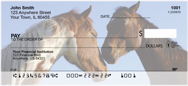 Equine Love Personal Checks | ANK-91