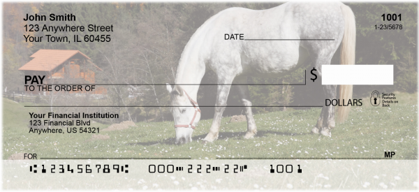 Grazing Freedom Personal Checks | ANK-92