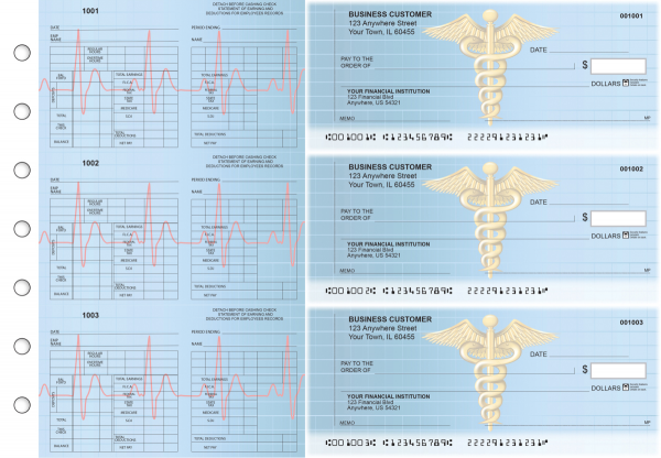 Medical Multi-Purpose Counter Signature Business Checks