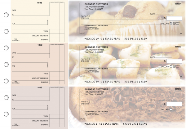 Bakery Standard Counter Signature Business Checks