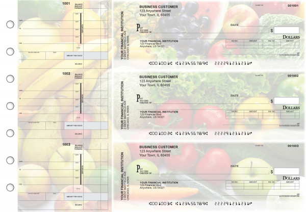 Fresh Produce Invoice Business Checks | BU3-CDS09-INV