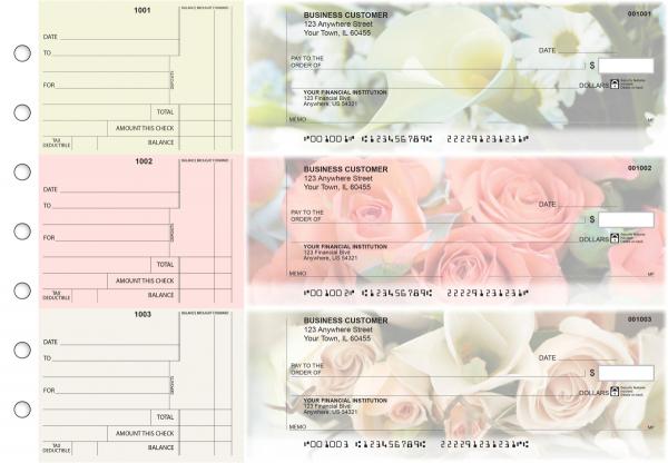 Florist Standard Counter Signature Business Checks