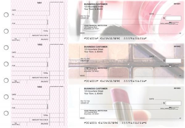 Makeup Standard Counter Signature Business Checks