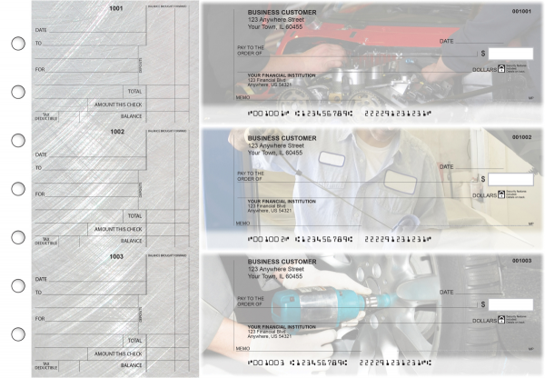 Mechanic Standard Counter Signature Business Checks