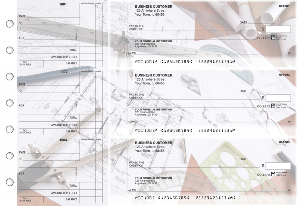 Architect Standard Counter Signature Business Checks