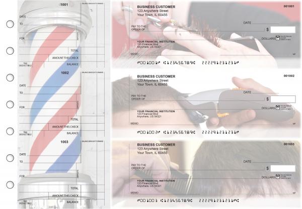 Barber Standard Counter Signature Business Checks