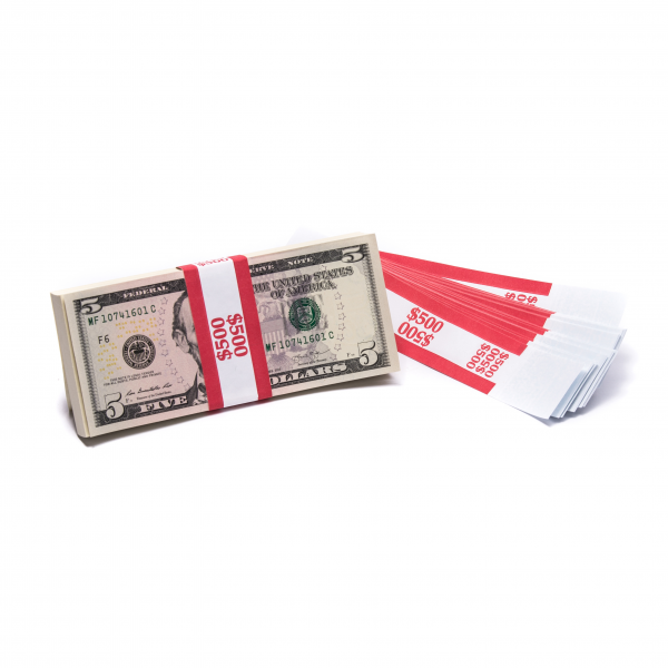 Barred $500 Currency Band | CBB-006