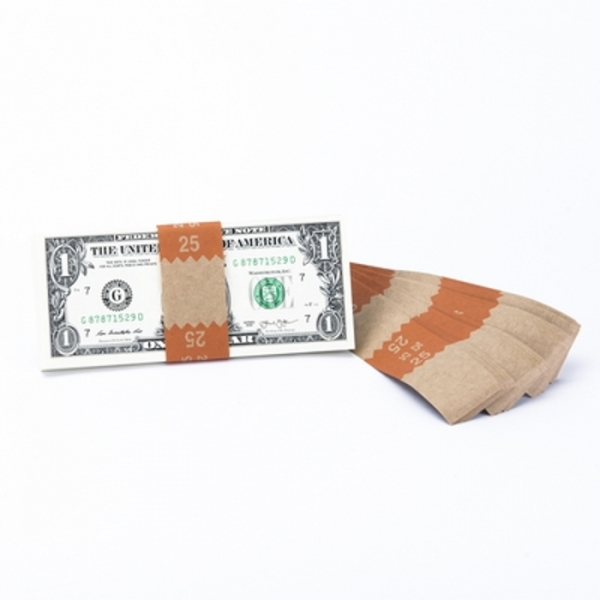 Natural Saw-Tooth $25 Currency Band