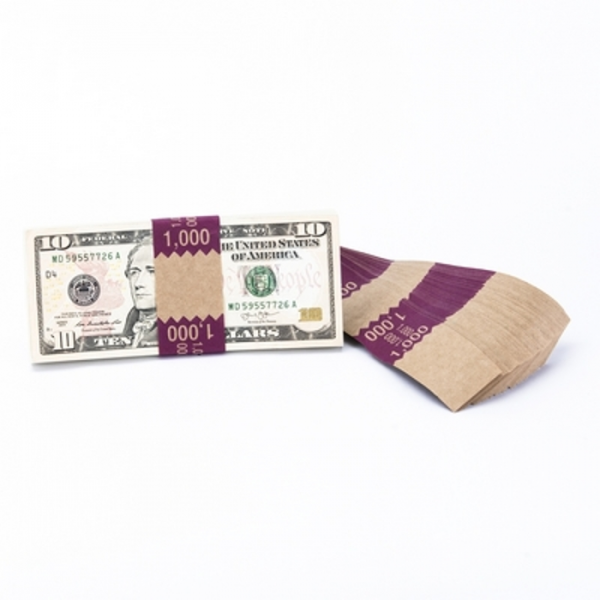 Natural Saw-Tooth $1,000 Currency Band