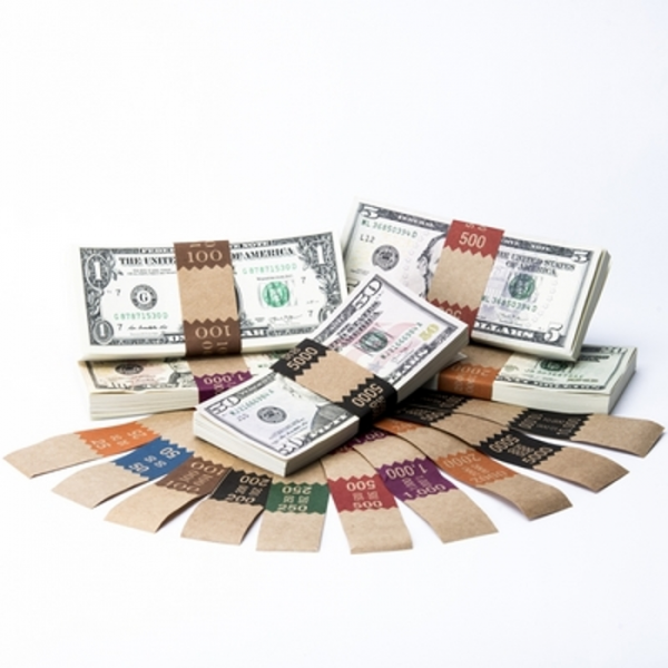 Natural Saw-Tooth Color-Coded Complete Currency Band Set