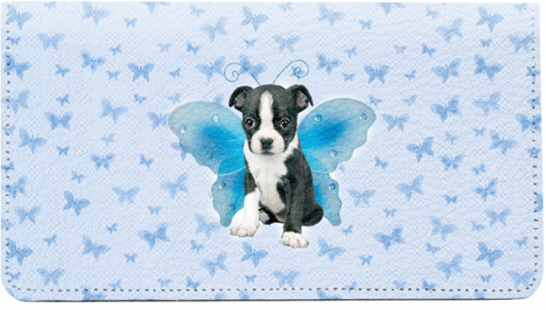 Dogs Wing Series Keith Kimberlin Leather Cover