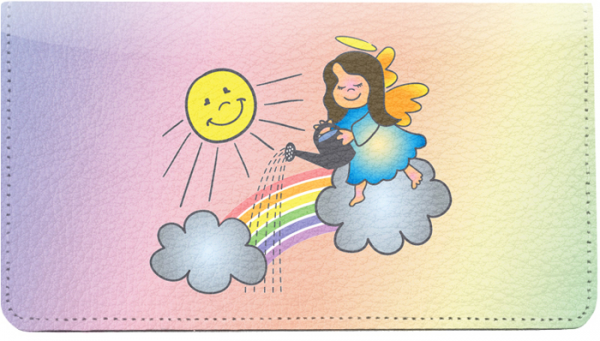 Rainbow Angels Leather Cover