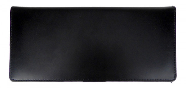 Economy Business Leather Checkbook Cover | CLM-BLA01