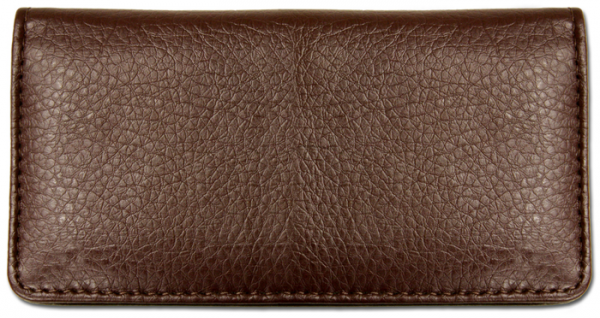 Dark Brown Textured Leather Cover | CLP-BRN06