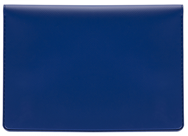 Blue Vinyl Top Stub Checkbook Cover | CVW-BLU01