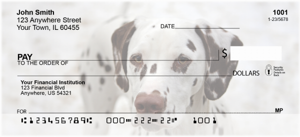 Dalmatians Personal Checks | DOG-74